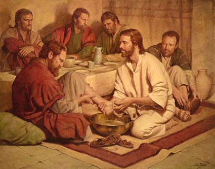Lent – Washing of Feet